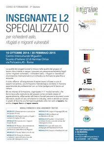 INSEGNANTE L2 locandina II edizione