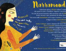 Narramondi – Una ricerca sulla narrazione con il corpo, la musica e il teatro di figura in chiave interculturale