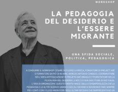 Workshop: la pedagogia del desiderio e l'essere migrante con Cesare De Florio La Rocca del projecto Axè- Brasile