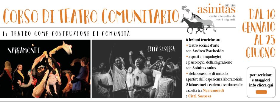 Corso di teatro comunitario 2018