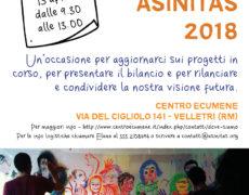 Assemblea dei soci Asinitas – Domenica 15 aprile 2018
