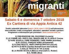MIRAGGI MIGRANTI – Laboratori di educazione interculturale e antirazzismo – 6 e 7 ottobre!