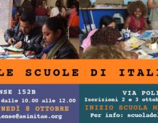 APRIAMO LE NOSTRE SCUOLE DI ITALIANO